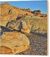 Highway 191 Dunes Wood Print