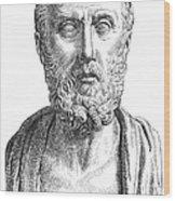 Hippocrates (c460-c377 B.c.) Wood Print