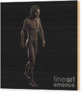 Homo Sapiens Wood Print