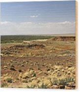 Homolovi Ruins State Park Arizona Wood Print by Christine Till