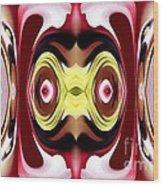 Horizon Abstract Wood Print