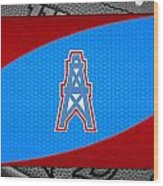 Houston Oilers Wood Print