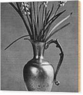 Hyacinth Still Life Wood Print
