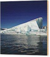 Icebergs-jokulsarlon Glacial Lagoon Wood Print