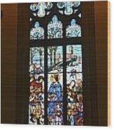 Igreja Luterana Of Petropolis- Brazil Wood Print