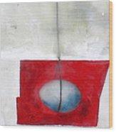 In The Balance Wood Print