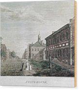 Independence Hall, 1798 Wood Print