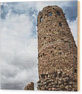 Indian Watchtower Grand Canyon Wood Print