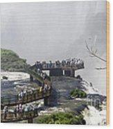 Iquazu Falls - South America Wood Print