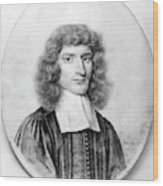 Isaac Barrow (1630-1677) Wood Print