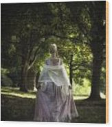 Jane Austen Wood Print by Joana Kruse