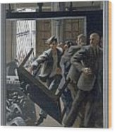 3. Jesus Drives Out The Money Changers / From The Passion Of Christ - A Gay Vision Wood Print