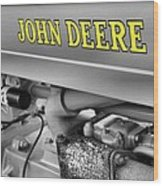John Deere Wood Print by Dan Sproul