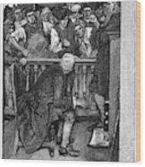 Jonathan Wild (c1682-1725) Wood Print