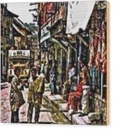 Kathmandu  Wood Print