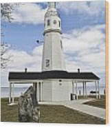 Kimberly Point Lighthouse Wood Print