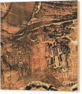 3 Kings Rock Art Wood Print