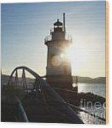 Kingsland Point Lighthouse Wood Print