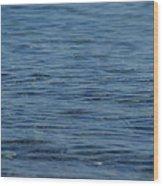 Lake Ripples Wood Print