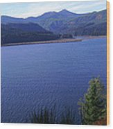 Lakes 4 Wood Print by J D Owen