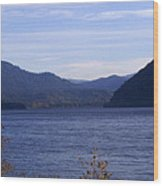 Lakes 5 Wood Print