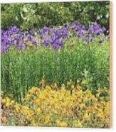 3-layered Garden Wood Print