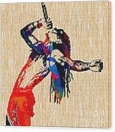 Lil Wayne Collection Wood Print