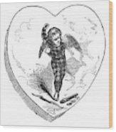 Love Lyrics And Valentine Verses, 1875 Wood Print