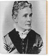 Lucretia Garfield (1832-1918) Wood Print