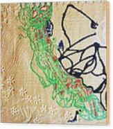 Mama Dinka - South Sudan Wood Print