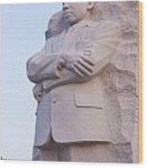 Martin Luther King Jr Memorial  Wood Print