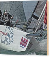 Melges Regatta Wood Print