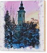 Christmas Card 22 Wood Print