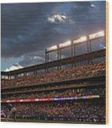 Milwaukee Brewers V Colorado Rockies Wood Print