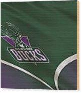 Milwaukee Bucks Uniform Wood Print