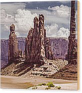 Monument Valley - Arizona Wood Print