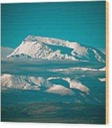 Mount Gurla Mandhata Wood Print