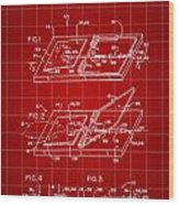 Mouse Trap Patent - Red Wood Print