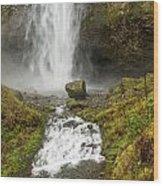 Multnomah Falls Series Wood Print
