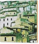 Navelli Village - Abruzzo - Italy Wood Print