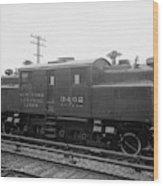 New York Central Railroad Wood Print