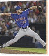 New York Mets V Atlanta Braves Wood Print