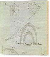 Newton's Optics Wood Print