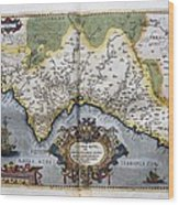 Ortelius, Abraham 1527-1598. Theatrum Wood Print