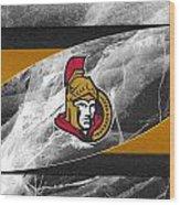 Ottawa Senators Wood Print