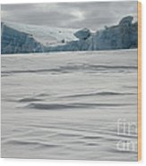 Pack Ice, Antarctica Wood Print