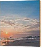 Panama City Florida Wood Print