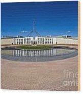 Parliament House Australia Wood Print