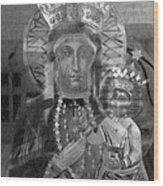 Patron Of Poland Wood Print