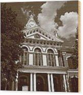 Pontiac Illinois - Courthouse Wood Print